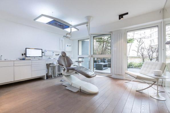 fauteuil de soins dentaires - Dr Herszenfis